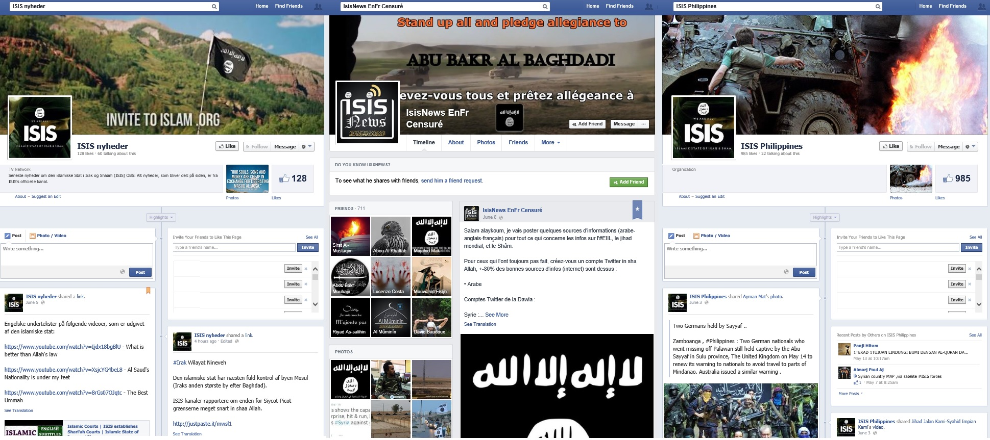 the issue of isis propoaganda on social media Isis may have lost most of their territory, but it's important to be aware that isis can still utilise the internet and social media to recruit people and to spread their fantastical.