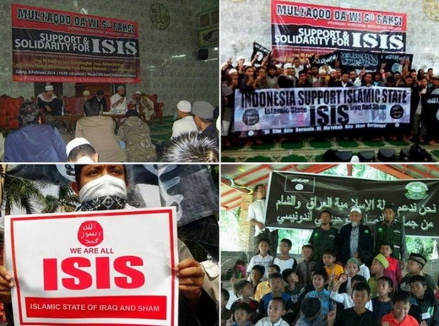 indonesian islamic activists support isis