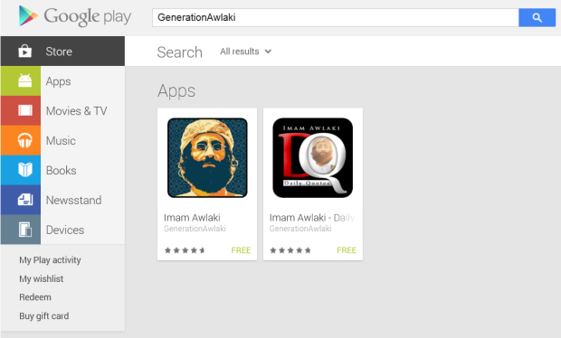 Generation Awlaki on Google play