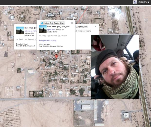 Mark Taylor - Aka Kiwi Jihadi - in Al Tabqah