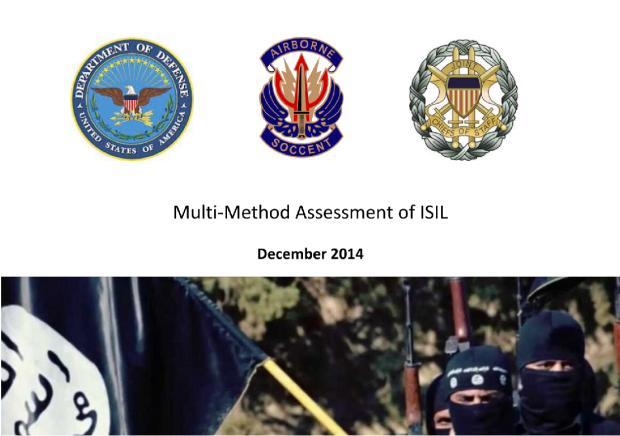 SOCCENT Multi-Method Assessment of ISIL - Release