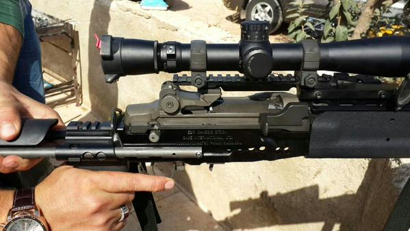 Jabhat al-Nusra Weapons Seizure